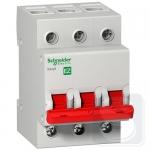 Выключатель нагрузки Schneider EZ9 І-О 3Р 400В 80А 5кА EZ9S16380