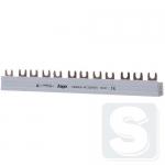 Шина соединительная вилочная Hager 4-полюсная на 12 модулей с изоляцией 10мм2 KDN463A