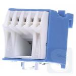 Блок дополнительных N-клемм 1x16 mm2 + 5x4 mm2, KN06N Hager
