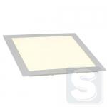 Светильник потолочный 18Вт 4200K IP20 врезной квадратный белый 225х225mm (LSPR.18.4200.WH)
