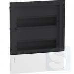 Щит 24 модулей, встраиваемый Schneider Mini Pragma MIP22212S черная дверь