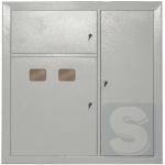 Этажный распределительный щит на 2 квартиры ЩЭ-2-1 36 УХЛ3 IP31 IEK