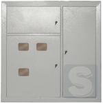 Этажный распределительный щит на 4 квартиры ЩЭ-4-1 36 УХЛ3 IP31 IEK