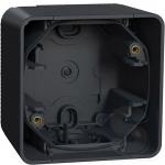 Накладная коробка для 1 механизма Mureva Styl IP55 Графит