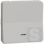 Выключатель унвиерсальный с подсветкой Mureva Styl IP55 Белый