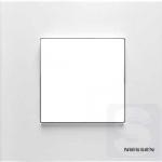 Рамка 1 пост ABВ Niessen Zenit белый (N2271 BL)