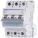 Автоматический выключатель Hager 63A, 10kA тип D, 3p NDN363