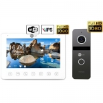 Комплект видеодомофона Neolight NeoKIT HD+ WF (Graphite/Silver)