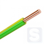 ПВ1 провод  6 мм., жила монолит ЗЗЦМ (бухта 100м., режется кратно 5 м.)