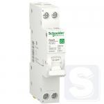 Компактний дифавтомат RESI9 Schneider Electric 25А 30 мA 1П+N 6кA С типА