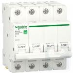 Автоматический выключатель RESI9 Schneider Electric 40А 4П В 6кА