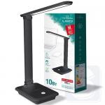 Настольная LED лампа на 10W TITANUM  3000-6500K Черная