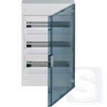 Щит на 54 модулей Hager Vega VB318TB прозрачная дверца