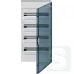 Щит на 72 модулей Hager Vega VB418TB прозрачная дверца