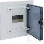 Щит электрический внутренний Golf 4-модульный прозрачные двери VF104TD