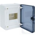 Щит электрический Golf 4-модульный прозрачные двери VS104TD
