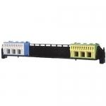 Клеммы для проводов с держателем под PE и N для 1-рядных щитов Hager