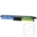 Клеммы для соединения проводов с держателем под PE и N для 2-рядных щитов Hager