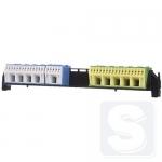 Соеденительные клеммы для проводов с держателем под PE и N для 3-рядных щитов Hager