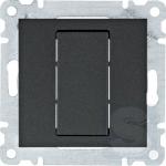 Заглушка, черный, Hager Lumina (WL7013)