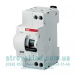 Дифавтомат ABB 10А 2Р 30mА тип C 6kA (DS951C-10-30AC) 16021369