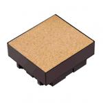 Коробка монтажная на 4 поста для заливных полов Schneider Ultra ETK44834
