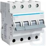 Автоматический выключатель Hager 40А тип B, 4p MB440A