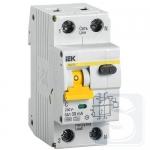 Дифференциальный автомат IEK АВДТ32 1P+N A C 16A 30mA (MAD22-5-016-C-30)