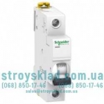 Автоматический выключатель Schneider Acti9 iK60N 6А 1P тип С 6кА A9K24106