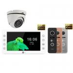 Комплект видеодомофона Neolight Kappa+ HD и Neolight Prime FHD и камера