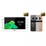 Комплект видеодомофона Neolight Kappa+ HD Neolight solo FHD graphite/silver/gold