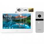 Комплект видеодомофона Neolight Mezzo HD WF Neolight Solo FHD graphite/silver