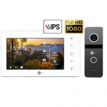 Комплект видеодомофона Neolight NeoKIT Pro (Graphite/Silver)