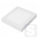 Светильник LED Lezard квадратный накладной 12Вт (174x174) 6400K холодный белый (464SKP-12)