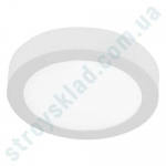 Светильник потолочный 12Вт 4200K IP20 накладной круглый белый 170mm (LRPS.12.4200.WH)
