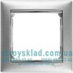Рамка на 1 пост Legrand Valena 770331 матовый алюминий