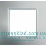 Рамка 1 пост Schneider Unica Quadro MGU6.702.55 серебро