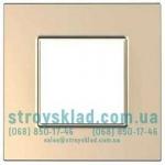 Рамка 1 пост Schneider Unica Quadro MGU6.702.56 медь