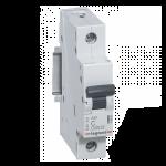 Автоматический выключатель Legrand RX3 6А 1 полюс тип С, 419661