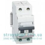 Автоматический выключатель Legrand RX3 6А 2 полюса тип С, 419694