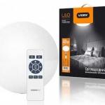 Светодиодный LED светильник SMART VIDEX 48W C ПУЛЬТОМ 2800-6000K круглый VL-CLSR-48 (24639)