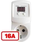 Реле напряжения для защиты отдельных приборов 16A HS electro (УКН-16р)