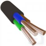 ВВГнгд 3х2,5 кабель не горючий, не дымит ЗЗЦМ (бухта 100м., режется кратно 50 метров)