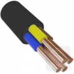 ВВГнг 4х4,0 кабель для трехфазных сетей ЗЗЦМ (режется от 1м.)