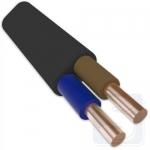 Плоский кабель ВВГ-П нгд 2х6 (режется кратно 1 м)